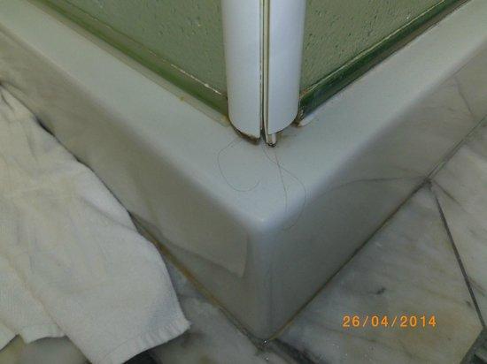 Andreola Hotel : pelos y sucidad en las duchas