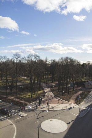 Cochs Pension: View Royal Park