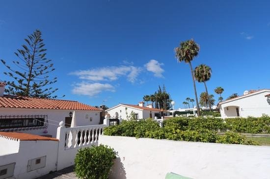 Santa Barbara Apartments: the view from the terrace