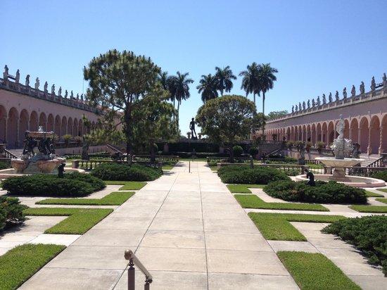 The Ringling: Jardim museu de arte