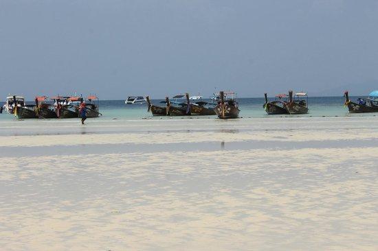 Zeavola Resort : marea baja, espectacular