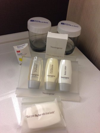 Hilton Garden Inn Times Square : basic toiletries
