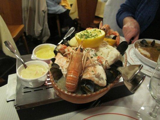 La Taverne Paillette: choucroute di pesce