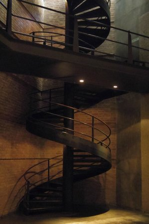 Trout & Wine Tours: Staircase at Salentein Bodega