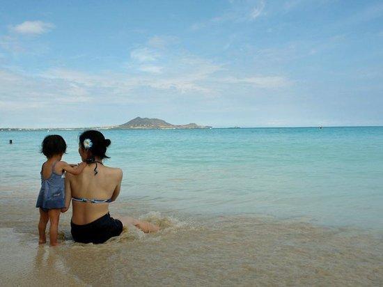 Kailua Beach Park: ビーチ