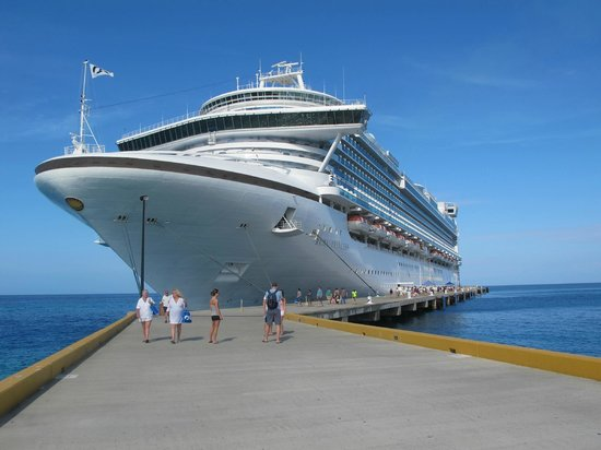 New Port At Grand Turk Caicos Island Picture Of Grand Turk - Turks and caicos cruise ship schedule
