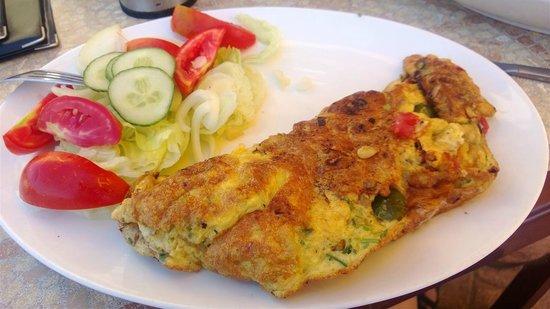 Il-Gzejjer Bar & Restaurant : Omelette