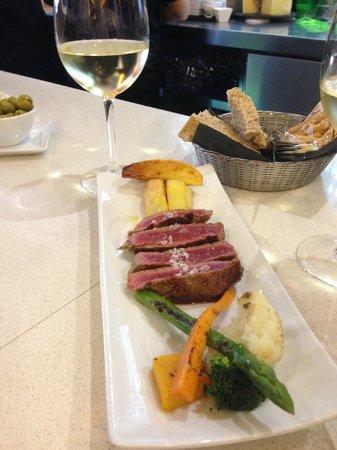 La Azotea Gran Poder: Aged Beef Fillet - Great dish!