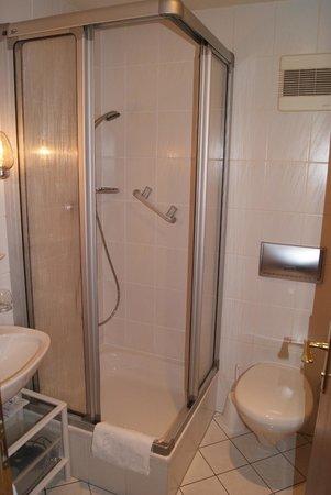 Hotel Zur Traube: Duschbad mit WC