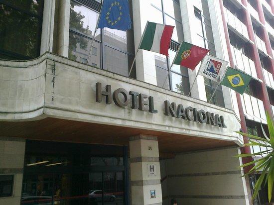 Hotel Nacional: fachada