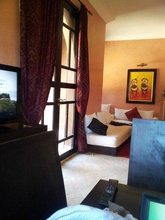 Residence Dar Lamia: Salon Villa