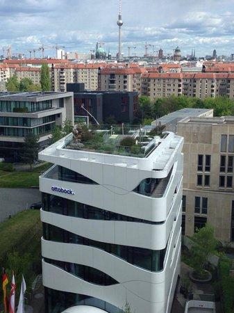 Berlin Marriott Hotel: Veduta dalla camera