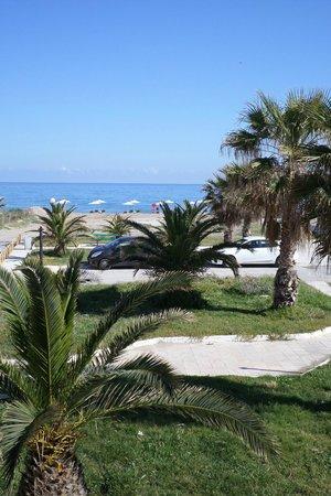 Aristea Hotel Rethymnon : vue sur la mer