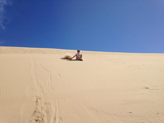 4WD Tag-Along & Passenger Tours: Sand Boarding