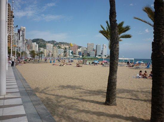 Playa de Levante : Levante Beach on a lovely sunny day