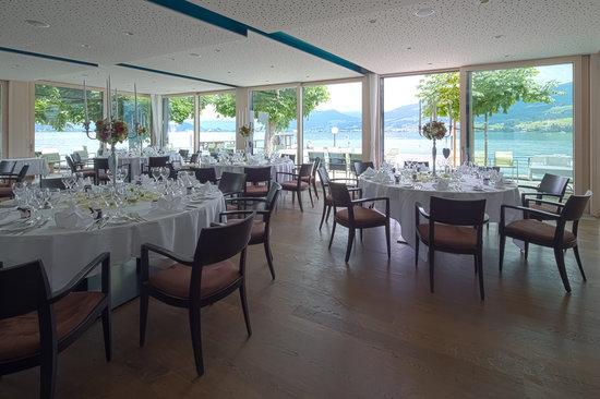 Hotel Restaurant Rössli: Restaurant Seepavillon