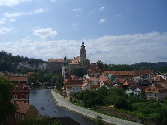 Historic Center of Cesky Krumlov : きれいでした。