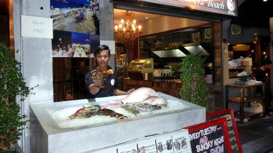 Yin Yang Restaurant : Un bel étal de crustacés