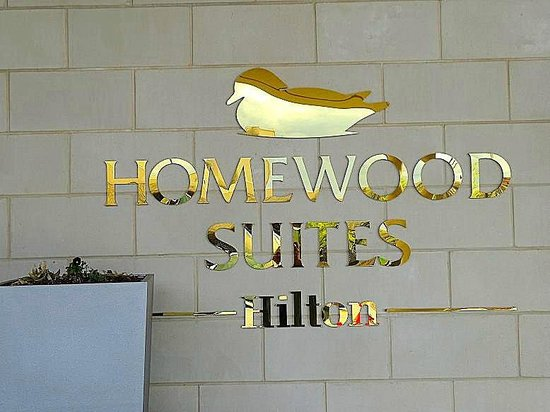 Homewood Suites by Hilton Springfield: hotel sign outside