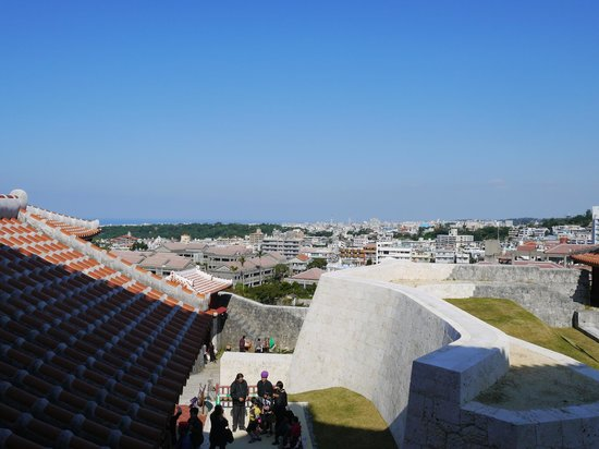 Shurijo Castle: 良い景色が見られます