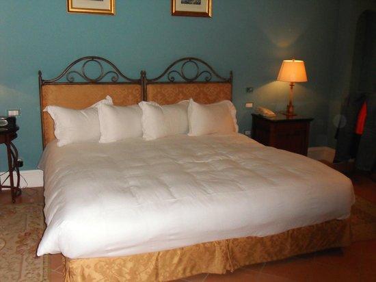 Giardino di Costanza Resort : le lit