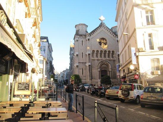 Rue Meynadier: улочка