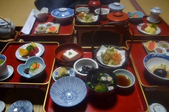 Shojoshin-in Temple : Abendessen