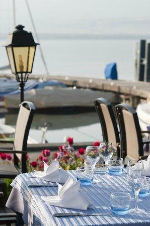 Hotel Le Jules Verne : Terrasse extérieure