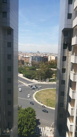 Hotel Alameda Plaza : View from room at level 11