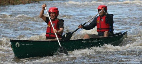 Wye Canoes Ltd: Canoeing Symonds Yat Rapids