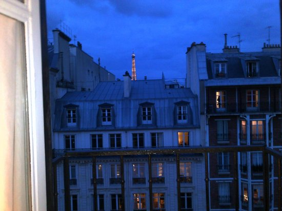 Melia Paris Champs Elysees: Las vistas son muy parisinas