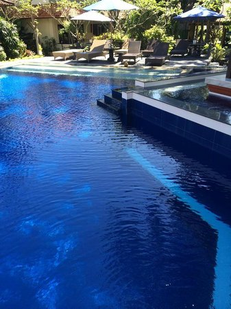 The Taman Ayu: Sparkling pool