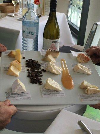 Meierei am Stadtpark: Degustação de queijos