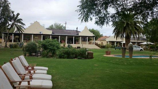 Thylitshia Villa Country Guesthouse: Garten