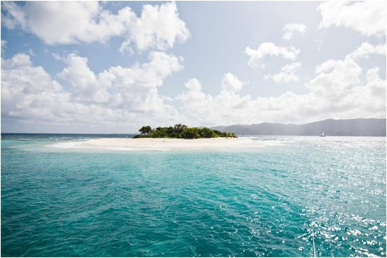 US Maagdeneilanden: Sandy Spit, British Virgin Islands