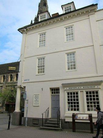 Samuel Johnson Birthplace Museum: Samuel Johnson Birthplace