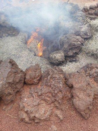 Parque Nacional de Timanfaya: Cratere attivo