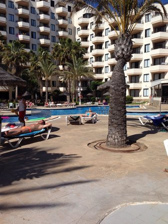 TRH Jardin del Mar: Pool area