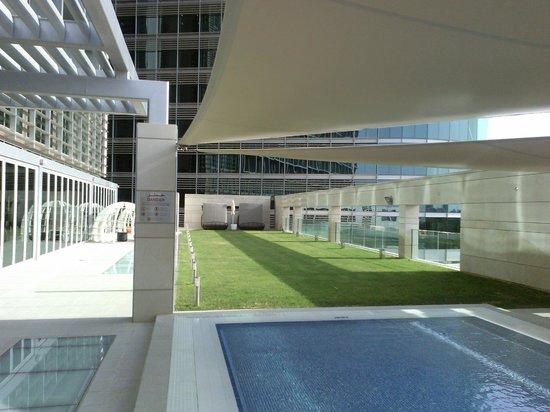 Novotel Abu Dhabi Al Bustan: playing ground