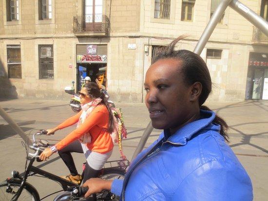 Barcelona CicloTour : Barcelona bike tour