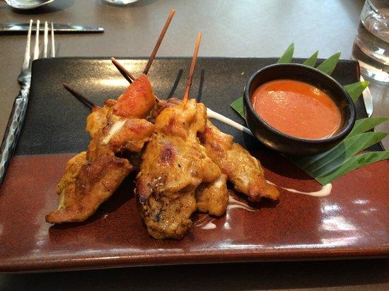 Patara Fine Thai Restaurant - Oxford Circus: Satay