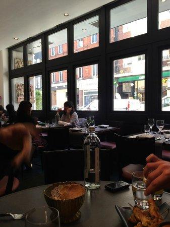 Patara Fine Thai Restaurant - Oxford Circus: inside view