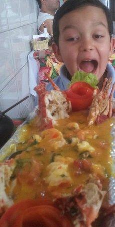 Restaurante Pirata do Porto: Meu filho achou que foi um dos melhores momentos da viagem! Rsss