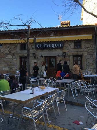 M.el Meson: restaurant from the outside