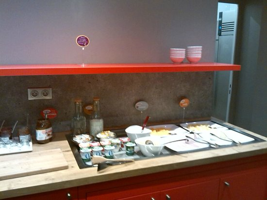 Ibis Paris Gare du Nord: breakfast