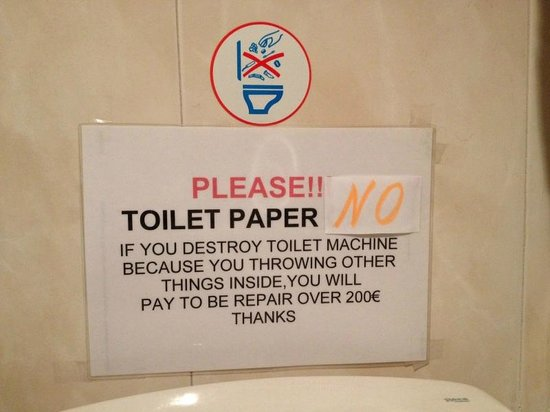 Cartello Da Appendere In Bagno : Bagno regole segno placca da parete o installazione amazon