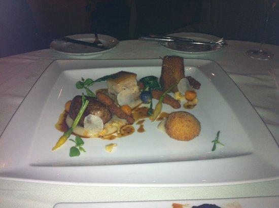 Bon Bon Restaurante: Amazing trio of pork