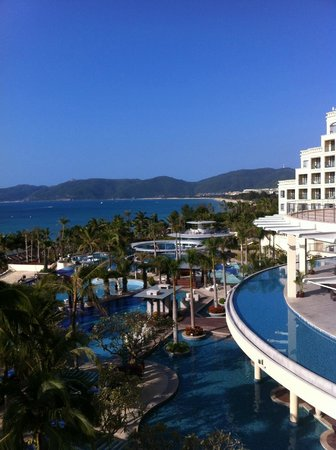 Holiday Inn Resort Sanya Yalong Bay: утро