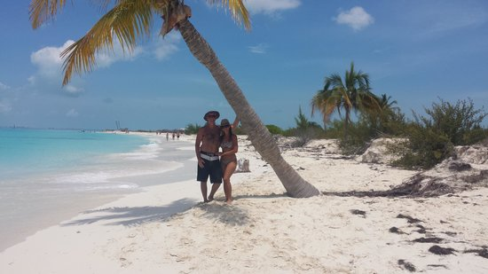 Playa Paraiso : Típica postal del Caribe