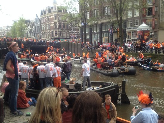 Andaz Amsterdam Prinsengracht: Kings Day
